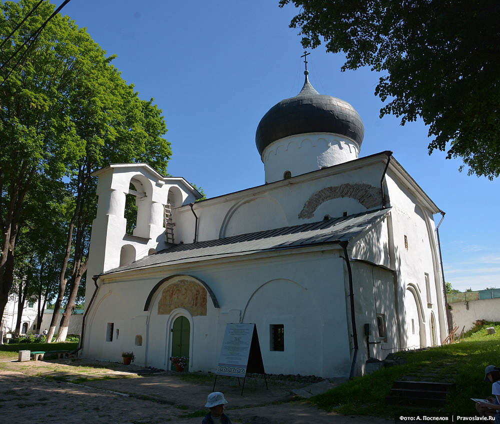 Holy Transfiguration Cathedral at the Mirozhsky Monastery