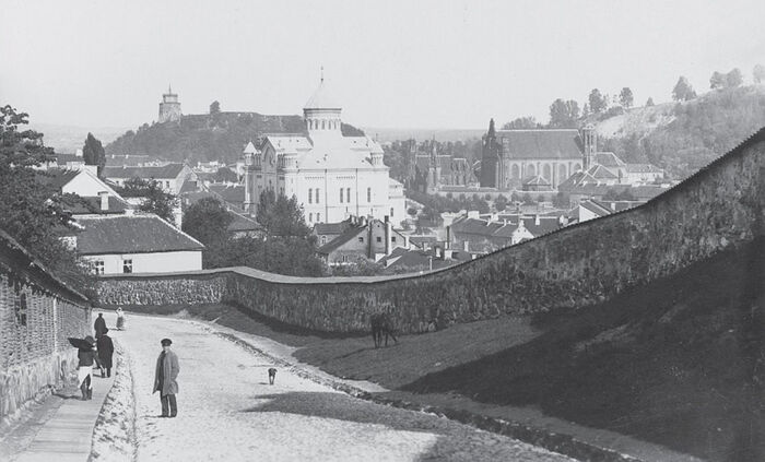 A view of the city from Boksto Street, 1896.