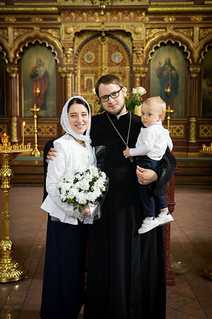 Отец Георгий с семьей