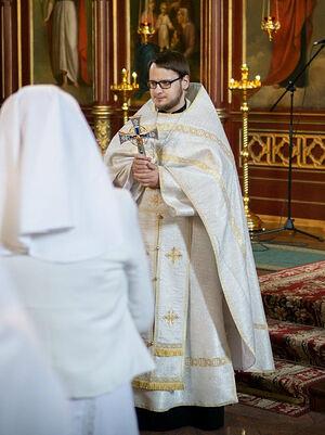 Священник Георгий Сунгайла