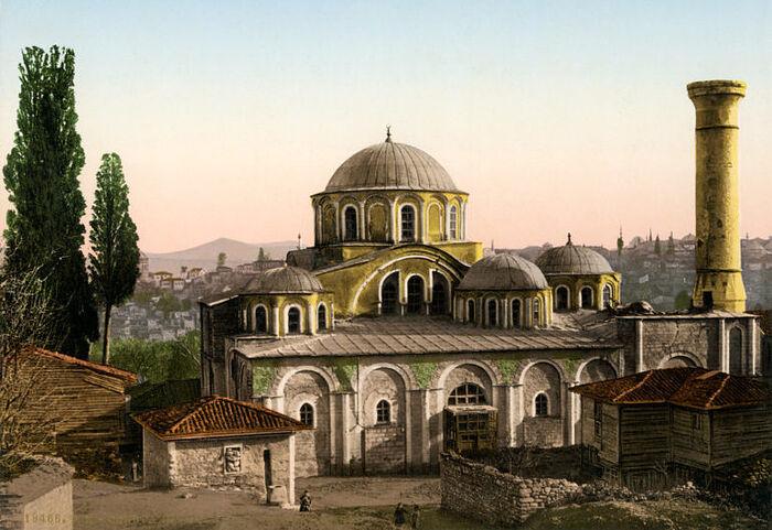 Мечеть Кахрие Джами. Около 1908 г.