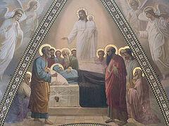 В каком году совершилось Успение Богородицы?
