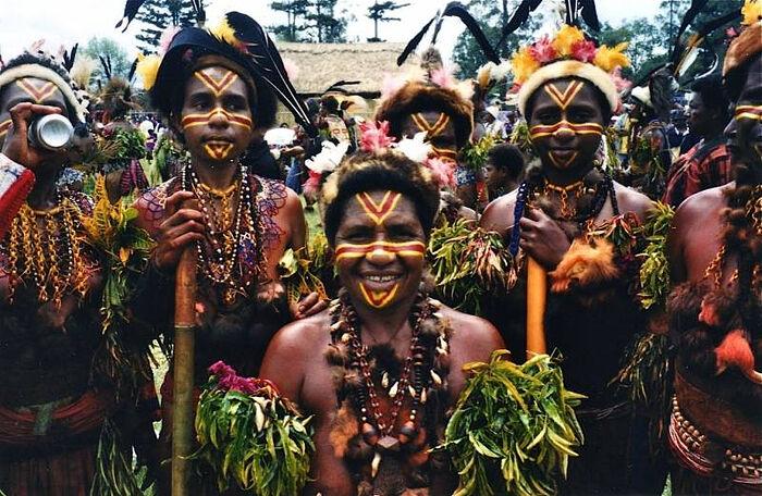 Indigenous Papuans. Photo: globaldrift.com.au