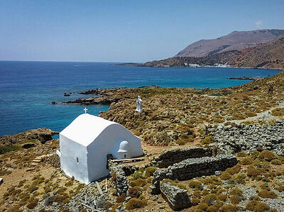 Beautiful Churches, Chapels & Monasteries of Crete, Greece
