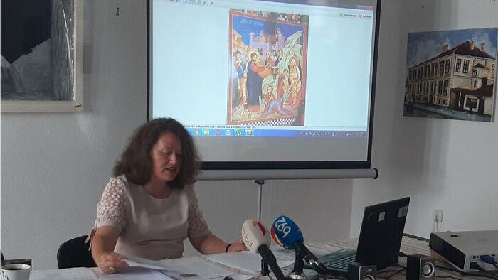 Оливра Радић, говори о Лазарицама