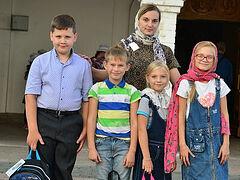 В Церкви помогли собрать в школу детей из малоимущих семей. Информационная сводка от 4 сентября 2020 года
