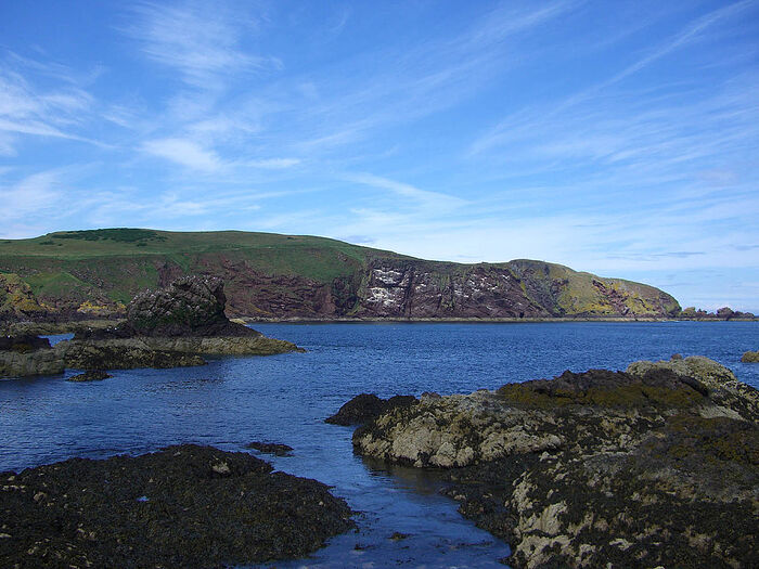 St. Abb's Head seen from the south.