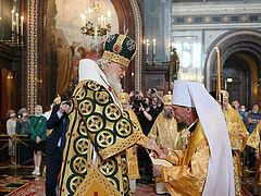 Bishop Benjamin of Minsk elevated to rank of Metropolitan in Moscow