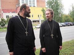 Священники в зоне повышенной инфекционной опасности