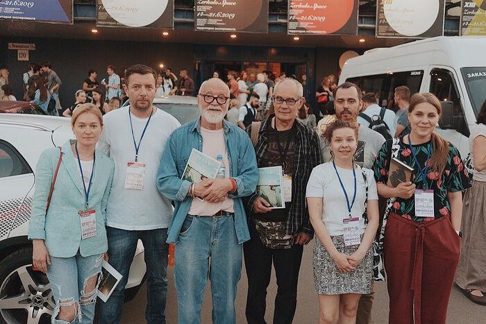 Хлебная команда на кинофестивале «Зеркало»