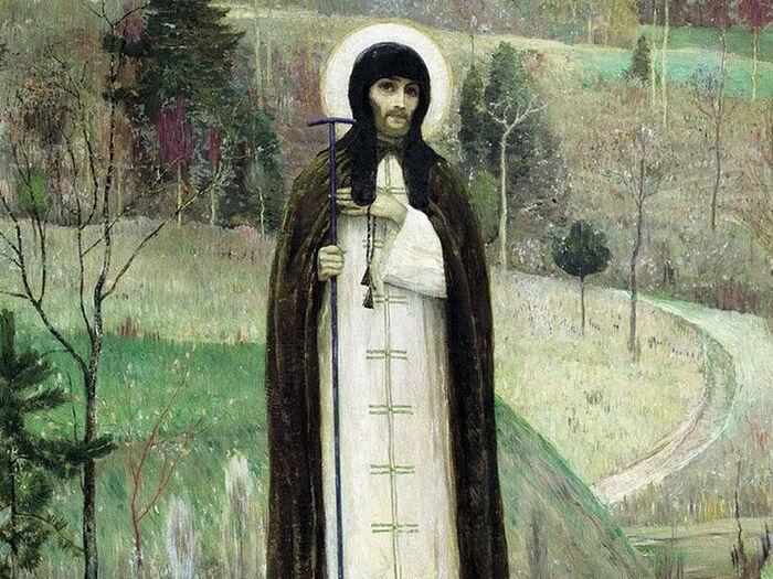 М. Н. Нестеров, «Преподобный Сергий Радонежский» (1891-1899)