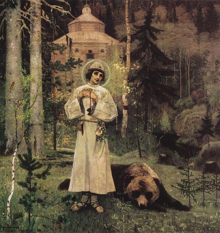 М. Н. Нестеров, «Юность преподобного Сергия» (1892–1897)