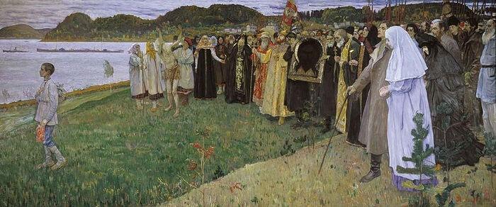 М. Н. Нестеров, «На Руси (Душа народа)» (1914-1916)