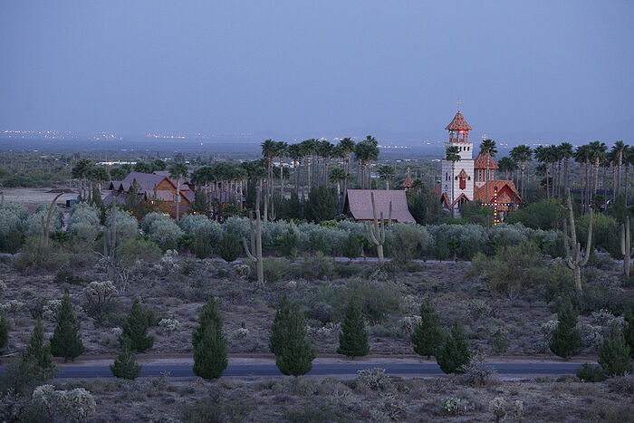 The Monastery of St. Anthony the Great in the Arizona desert