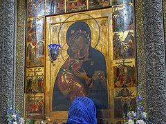 The Meeting of the Vladimir Icon of the Theotokos
