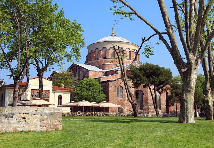 Церковь святой Ирины. Фото: weatlas.com