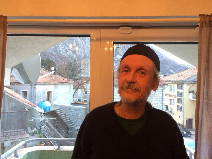 Отец Димитрий Таланкин в Черногории