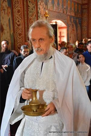 Рукоположение отца Димитрия Таланкина в монастыре Подмаине 29 августа 2019 г.