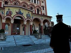 Αιτωλίας Κοσμάς: «Δεν αφήνει ο Θεός, άνθρωπέ μου, μέσα στο Ναό να μολυνθείς. Είναι χώρος άγιος, είναι ουρανός ο Ναός»