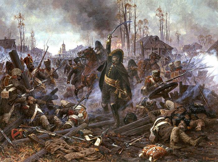 Дивизионный генерал Дельзон в бою за Малоярославец. Александр Аверьянов