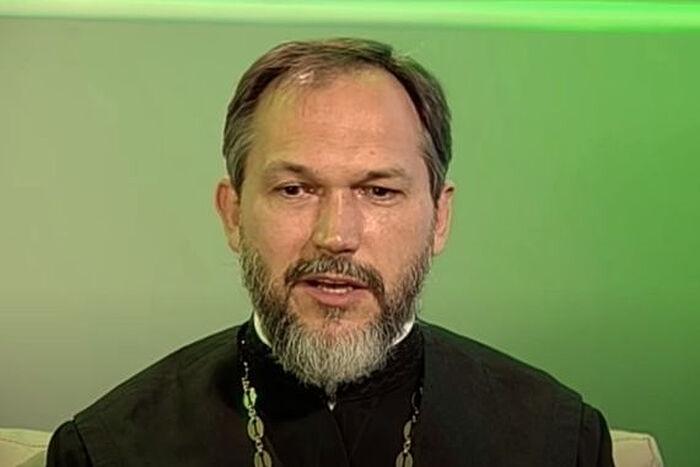 Протоиерей Василий Гелеван. Скриншот с youtube.com