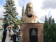 В Эстонии открыт памятник Святейшему Патриарху Алексию II у храма, настоятелем которого он был семь лет
