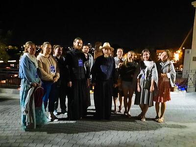 Митрополит Псковский Тихон встретился с участниками практической сессии «Волонтеры наследия. Херсонес 2020»