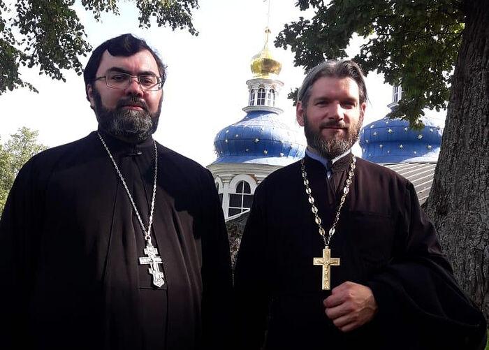 с о. Павлом Мироновым в Псково-Печерском монастыре