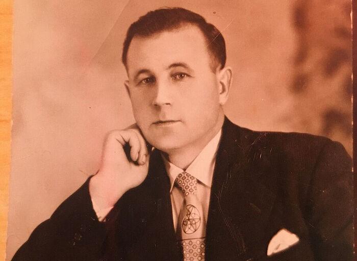 My father George Timofeevich Kurtov