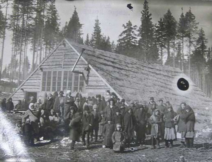 Special settlers in Siberia