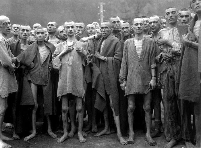 Prisoners of the Ebensee concentration camp