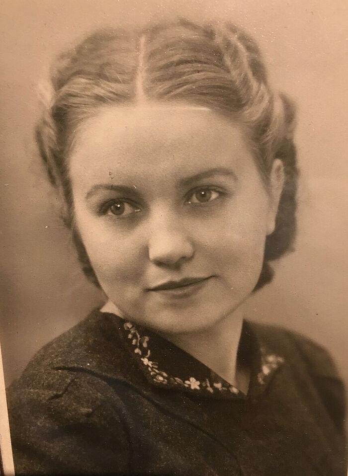 My mother, Antonina Ivanovna Kurtova