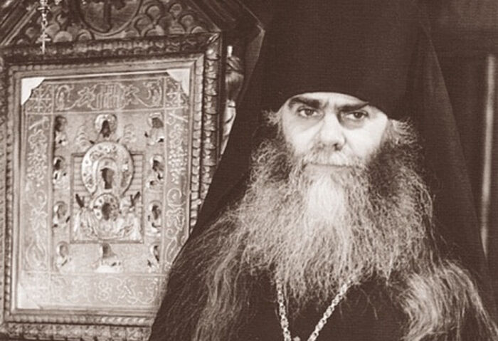 Vladyka Avery (Taushev) and the wonderworking Kursk Root Icon of the Mother of God