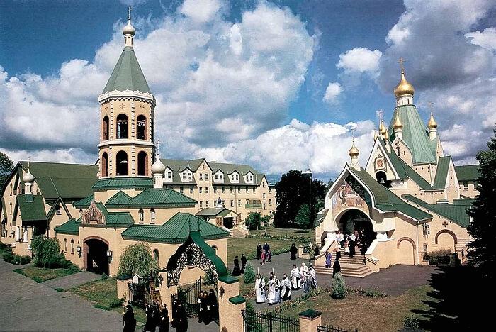 Свято-Троицкий монастырь Джорданвилль