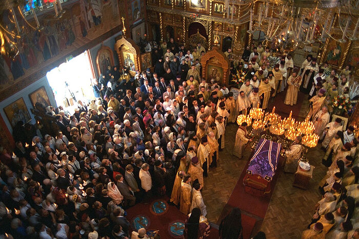 The canonization of St. John of Shanghai the Wonderworker of Shanghai and San Francisco