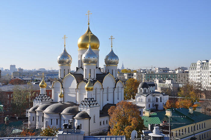 Moscow's Holy Conception Monastery
