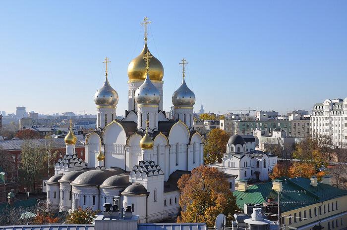 Зачатьевский монастырь Москвы