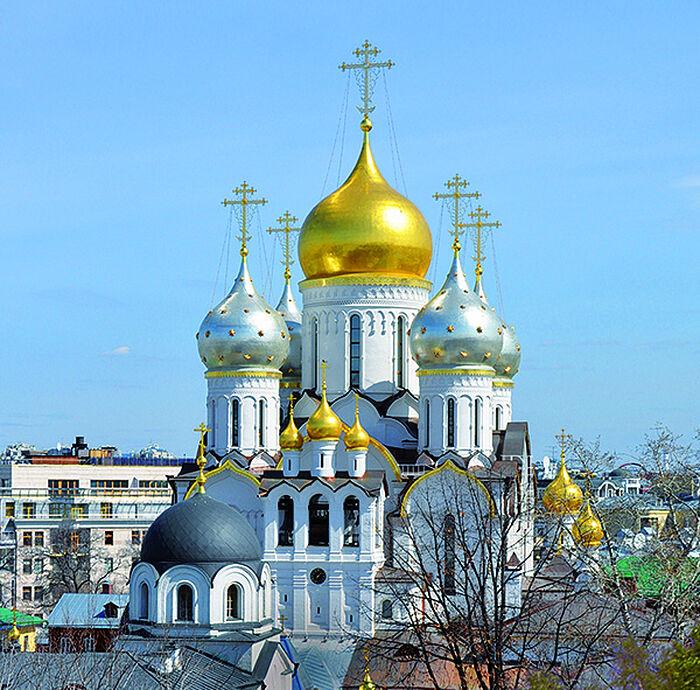 Зачатьевский монастырь. Собор Рождества Пресвятой Богородицы