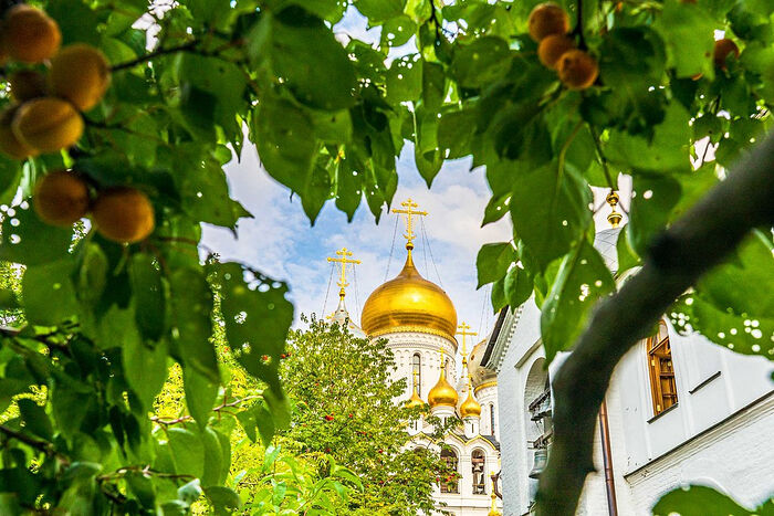 """""""What is a monastery without a garden?"""" Fr. Alexander Egorov said to his spiritual daughter, Abbess Juliana, during the restoration of the monastery"""