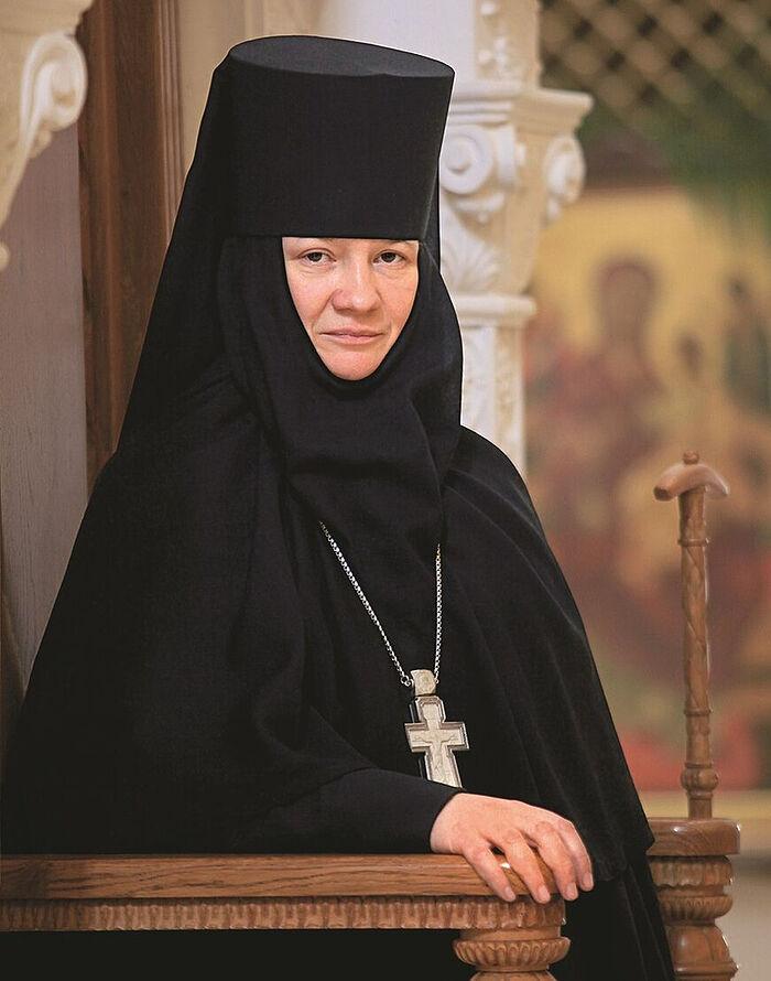 Настоятельница Зачатьевского монастыря игумения Иулиания (Каледа)