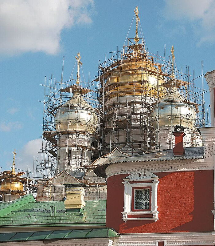The construction of the cathedral