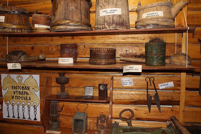В музее села Приуральское