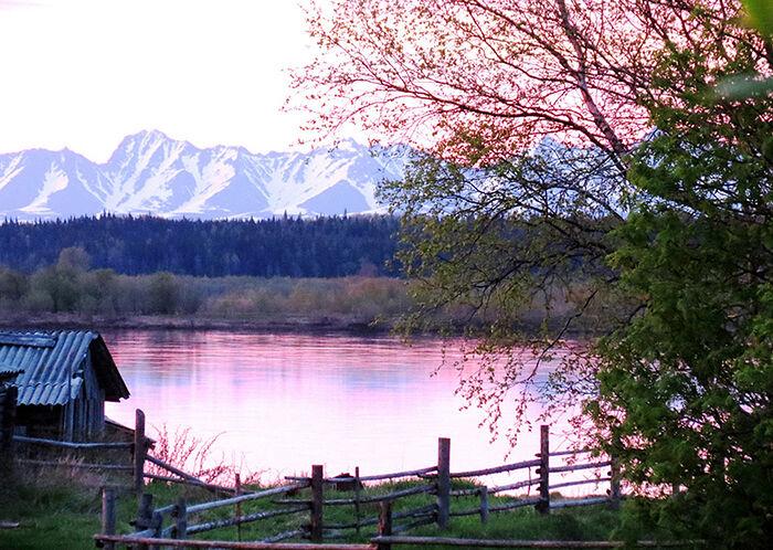 Село Приуральское на фото Евдокии Пыстиной