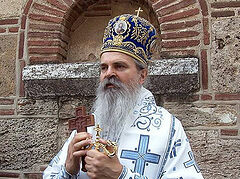 Bishop calls on Kosovo Serbs not to abandon their homes, churches, monasteries
