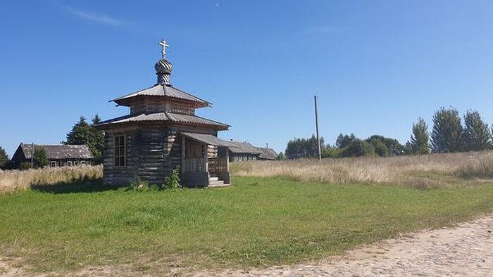 Отреставрированная часовня