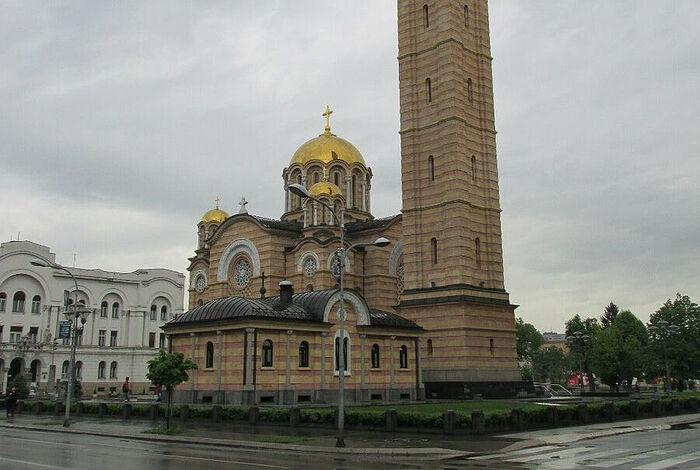 Храм Христа Спасителя, Баня-Лука