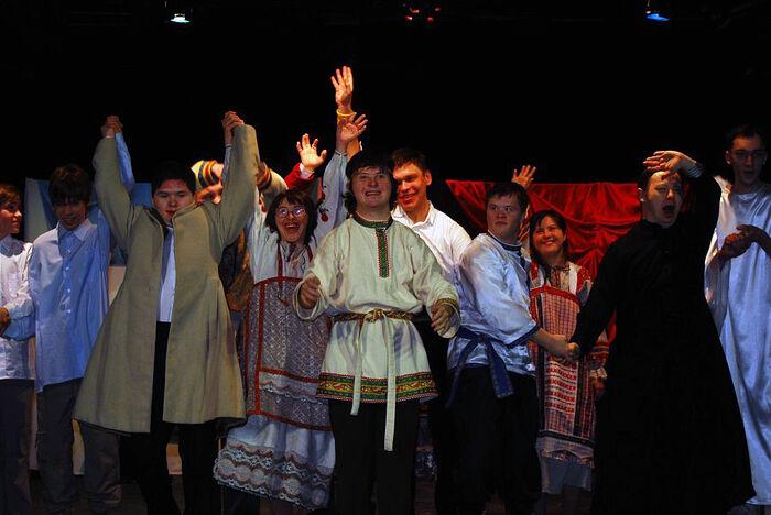 После спектакля в «Театре Простодушных»