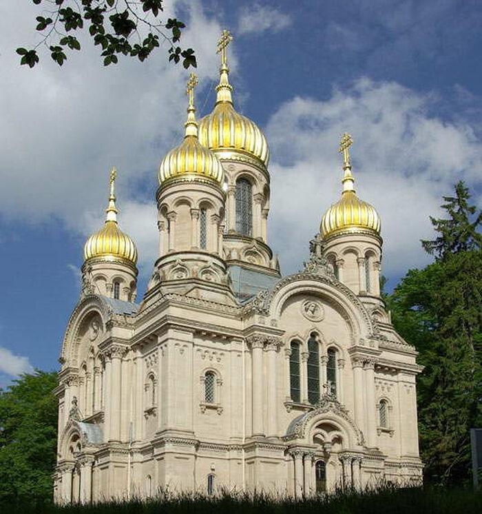 Православный храм Святой Елисаветы в Висбадене