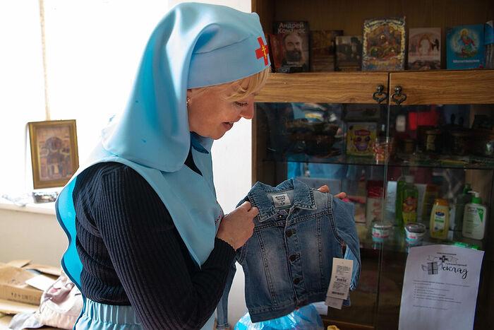 В Томской епархии открыли центр гуманитарной помощи