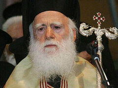 Archbishop Irineos of Crete in ICU with acute respiratory failure